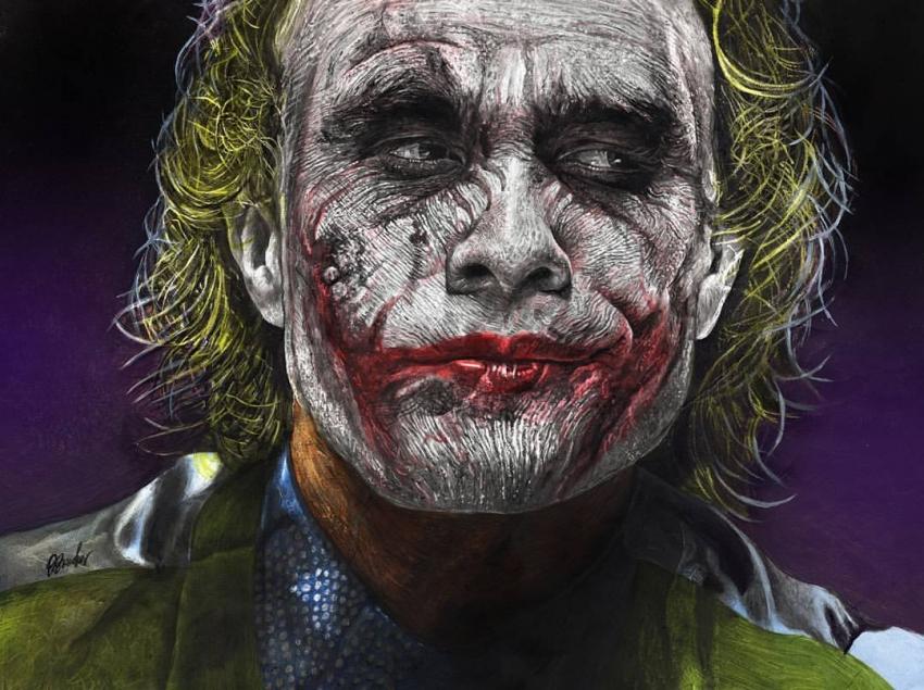 Heath Ledger by boonie1974